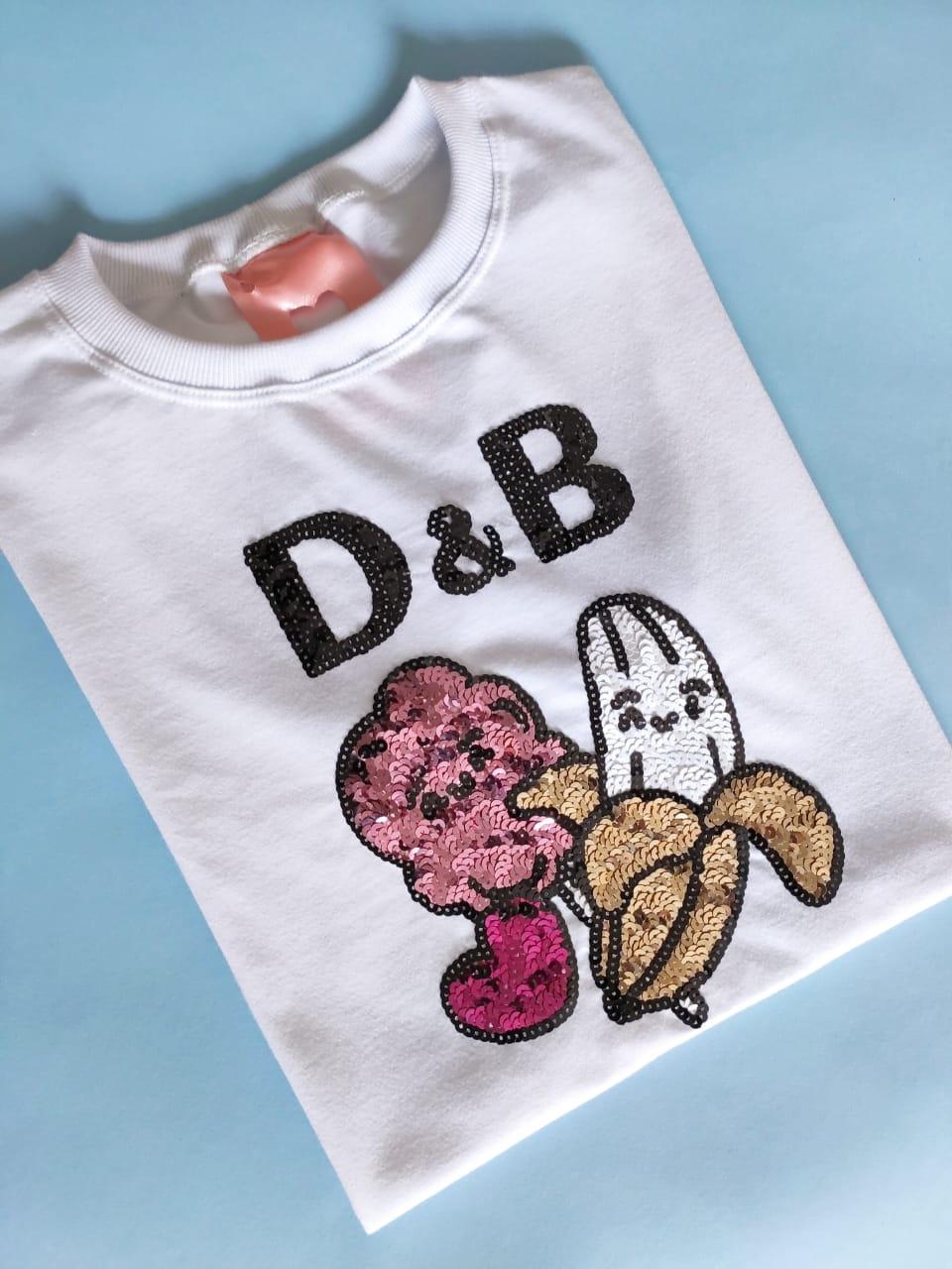Camiseta Dolce & Banana Branca