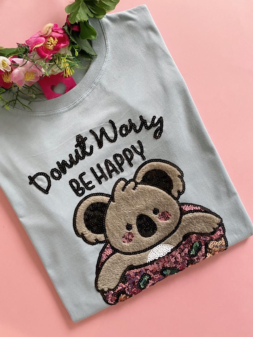 Camiseta Donut Worry