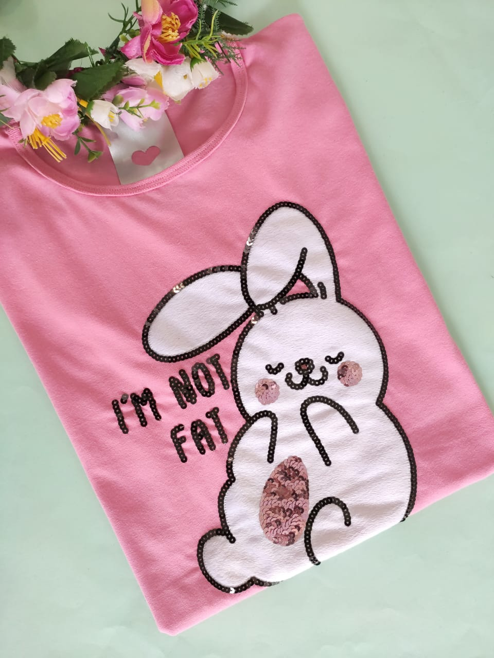 Camiseta Fluffy Rosa Chiclete