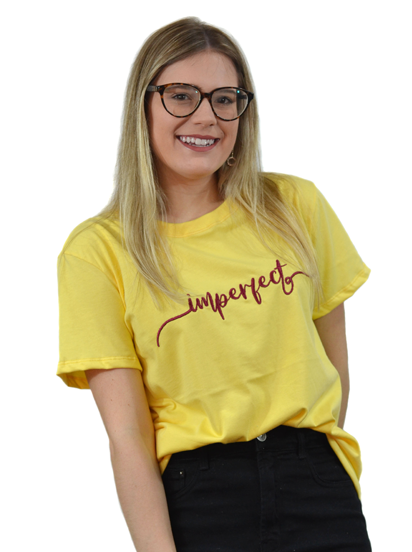 Camiseta Imperfect Amarela