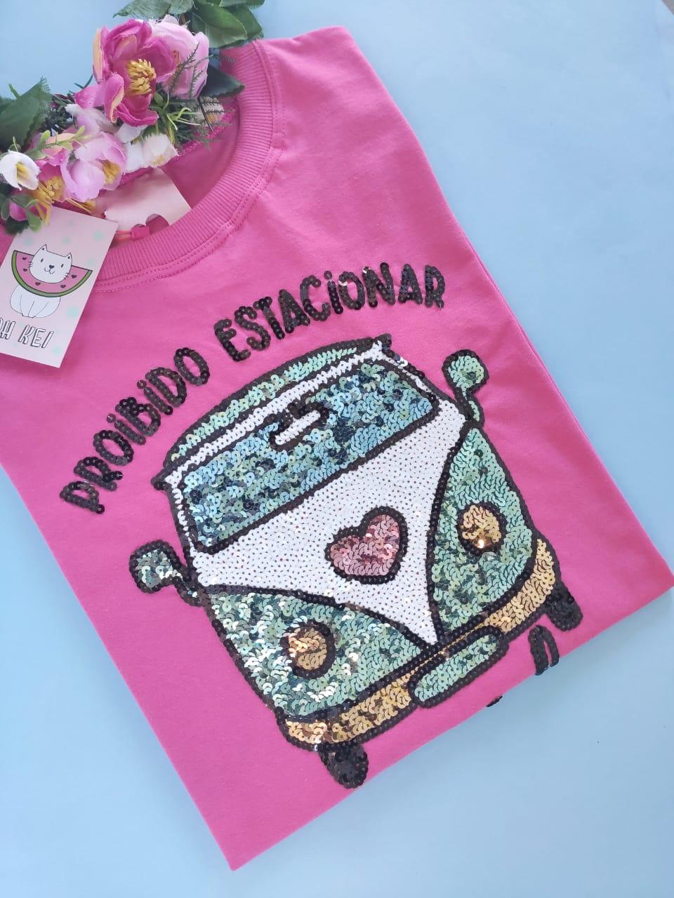 Camiseta Kombi Pink