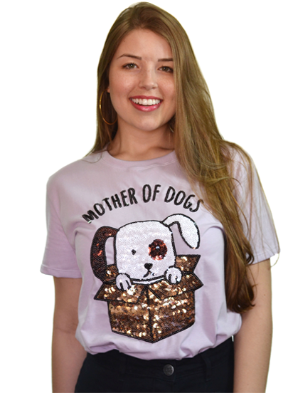 Camiseta Mother Of Dogs Lilás