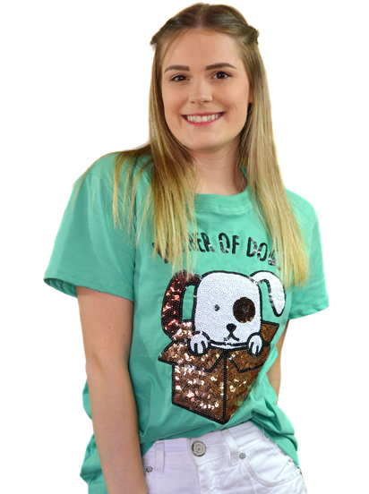 Camiseta Mother Of Dogs Verde