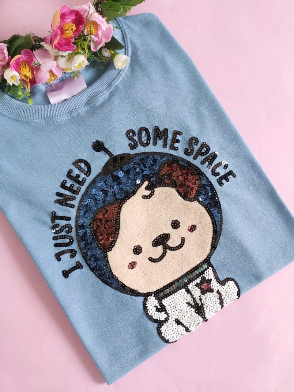 Camiseta Some Space Azul