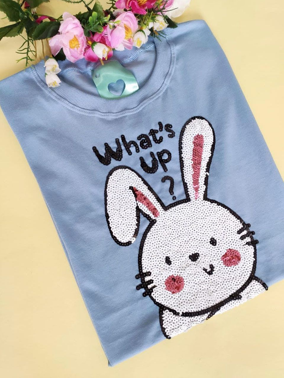 Camiseta What's Up? Azul