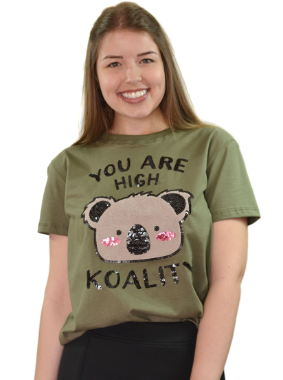 Camiseta You Are High koality Verde