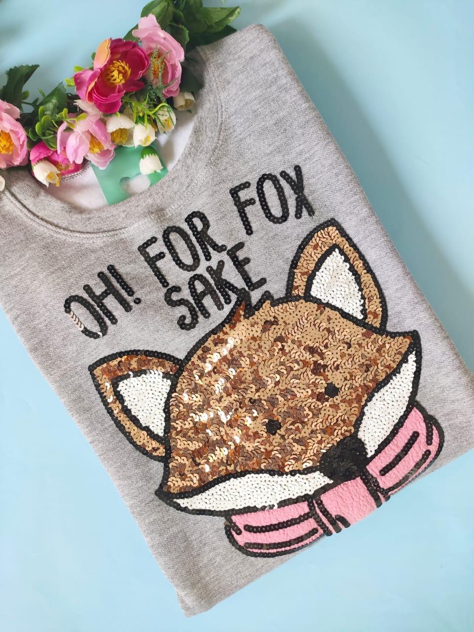 Moletom Oh! For Fox Sake Mescla