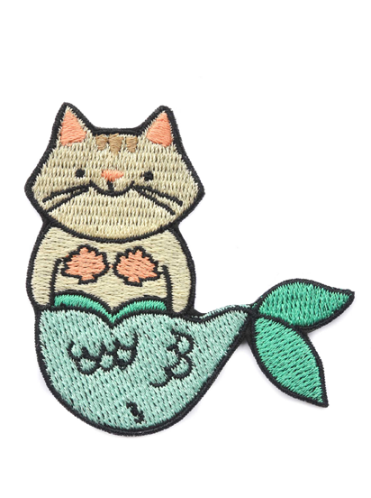Patch Cat Mermaid