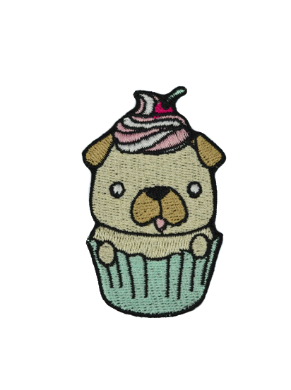 Patch Pug Cake