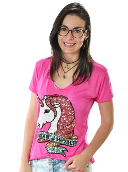 T-shirt Magic Pink