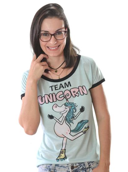 T-shirt Unicorn Team 10 Sublimada