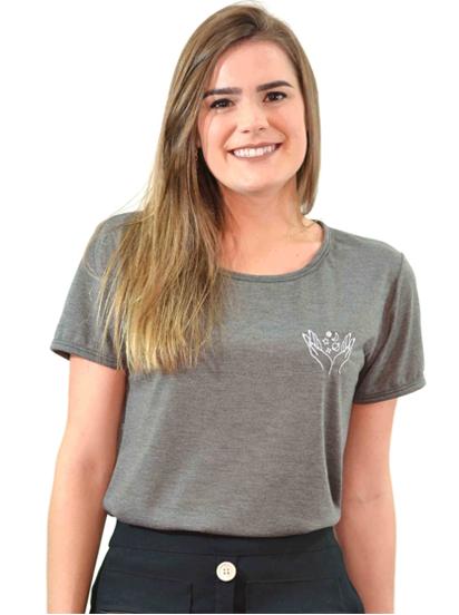 T-shirt Universe Chumbo