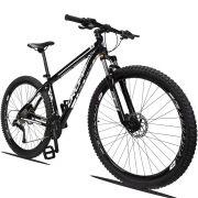 Bicicleta Aro 29 Dropp Z1 27v Câmbio Traseiro Acera Freio Hidráulico Suspensão com Trava Quadro 21 Preto