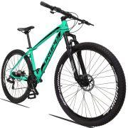 Bicicleta Aro 29 Dropp Z3 21v Câmbios Shimano Freio a Disco Hidráulico Quadro 17 Verde Água