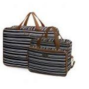 Bolsa maternidade Línea preta kit 02 peças mala + bolsa M - Hug