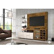 Estante Home New Turati Demolição/Off White para TV de até 65 - DJ Móveis