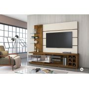 Estante Home Vetro Demolição/Off White para TV de até 65 - DJ Móveis