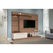 Home Theater Allure Nature/Off White - HB Móveis