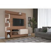 Home Theater Palace Nature Off White - HB Móveis