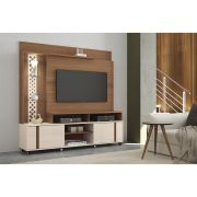 Home Theater Vitral Nature Off White - HB Móveis
