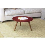Mesa de Centro Sorelle Vermelho - HB Móveis