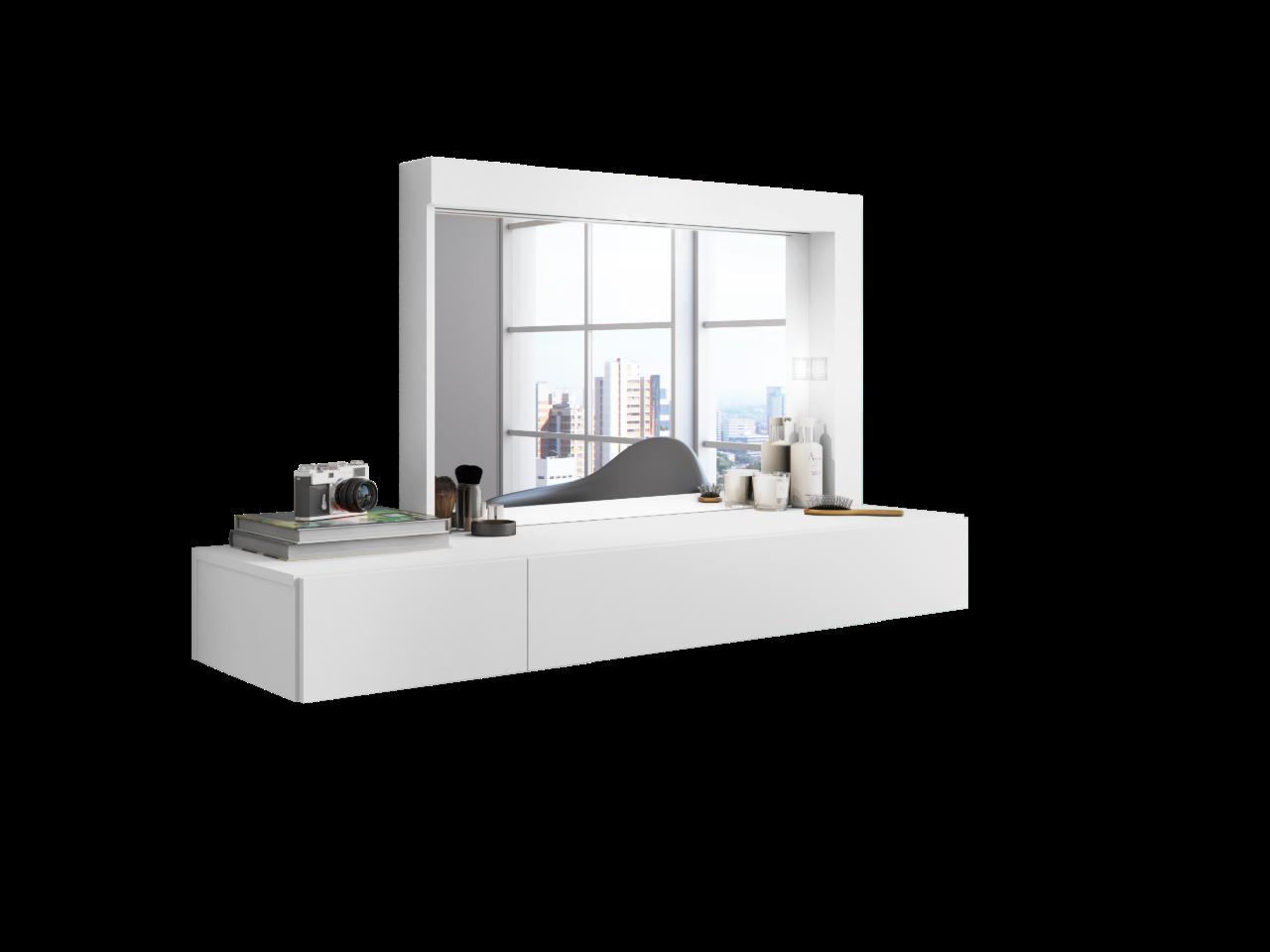 Camarin Inspiração Branco Fosco Liso - Móveis Albatroz