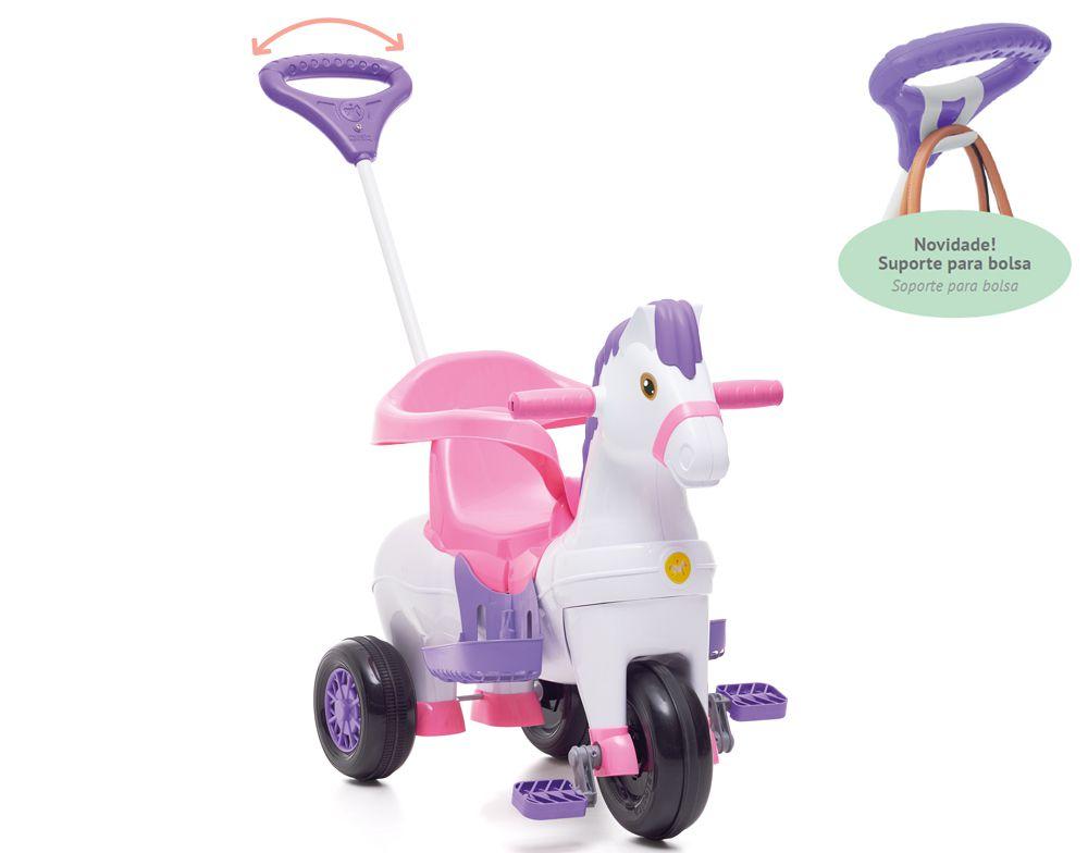 Triciclo Potó Rosa - Calesita