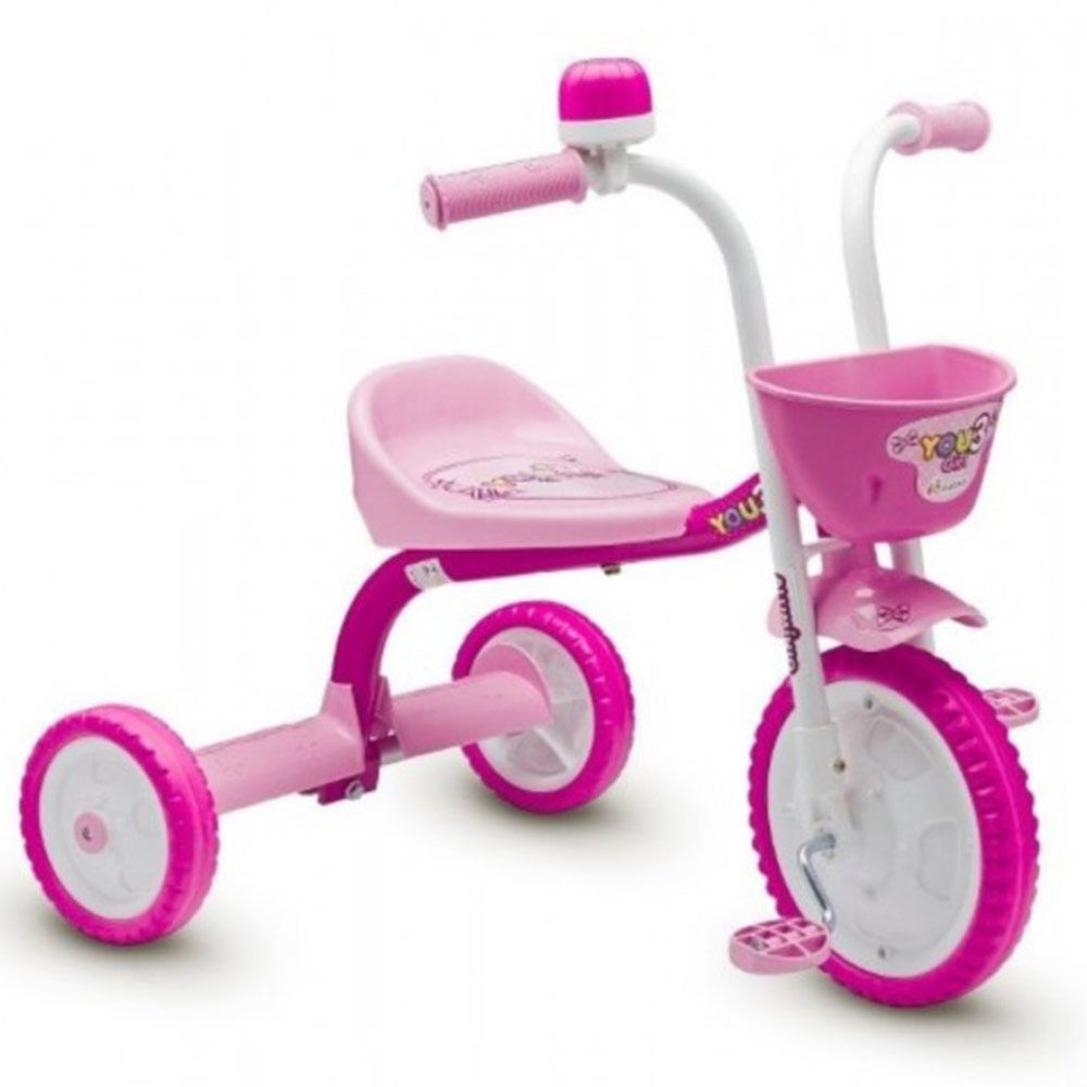 Triciclo Feminino You 3 Girl Rosa