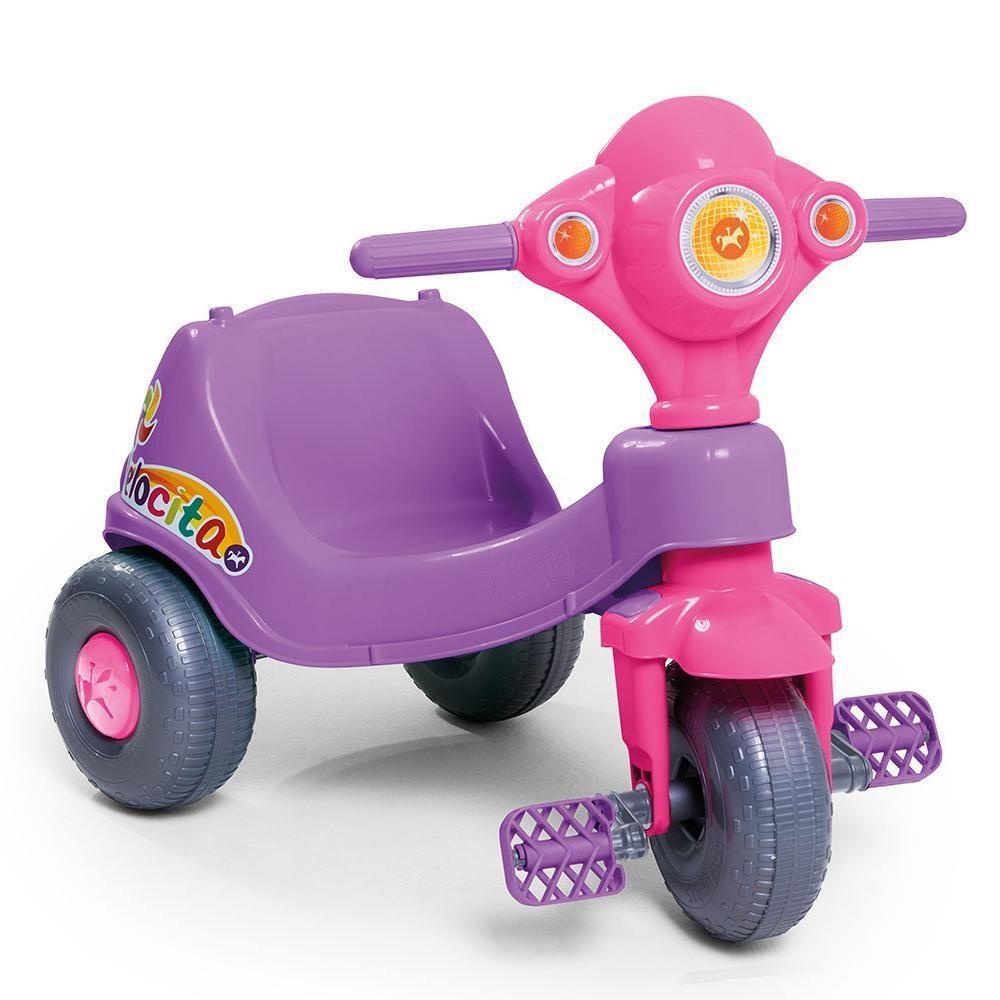 Triciclo Velocita lilás - Calesita