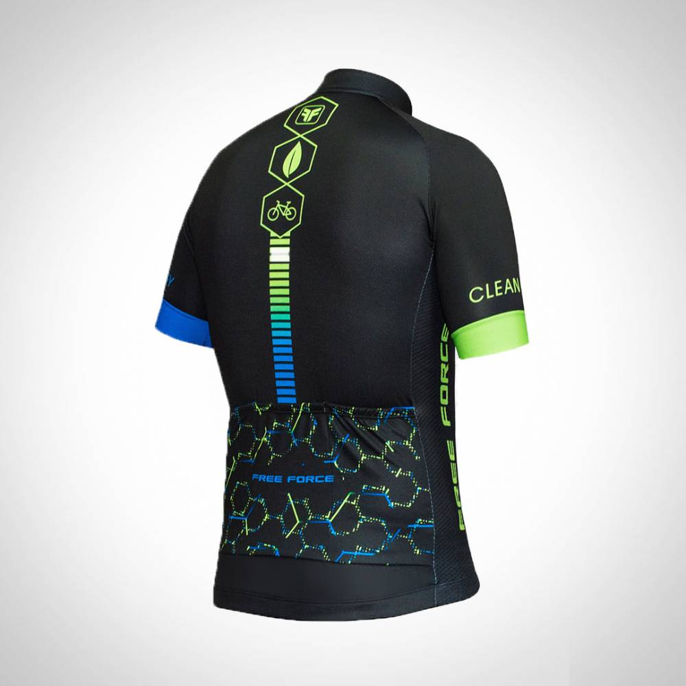 CAMISA FREE FORCE DE CICLISMO MASCULINA SPORT CLEAN ENERGY