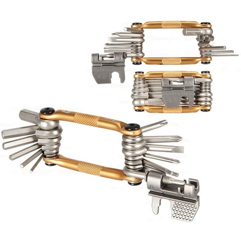 Canivete Allen Crank Brothers Multi 19 Dourado