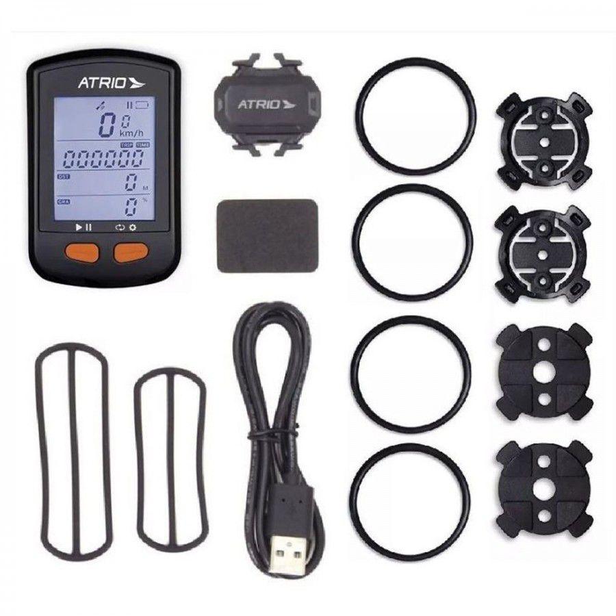 CICLOCOMPUTADOR COM GPS ATRIO STEEL