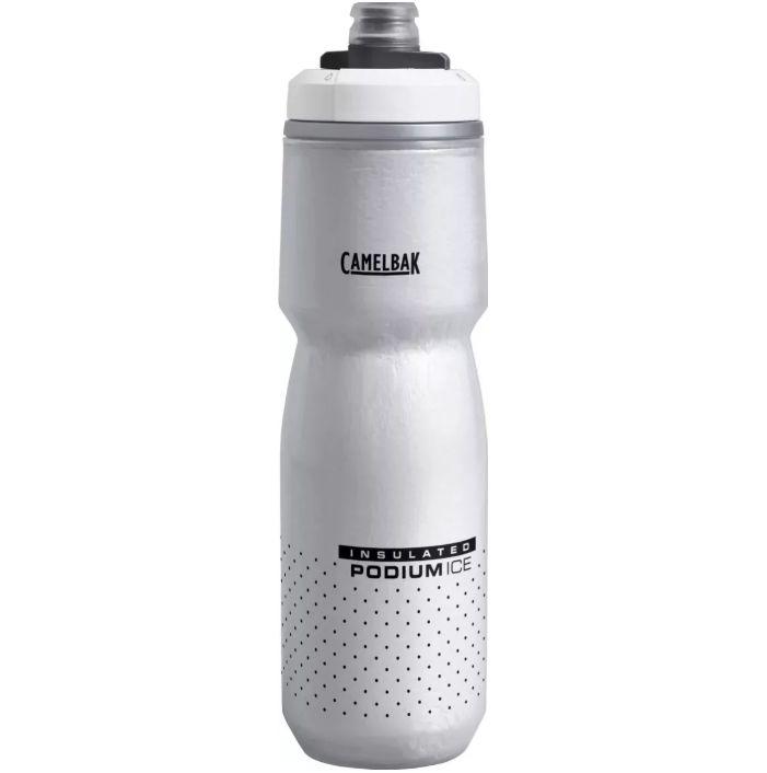 GARRAFA CAMELBAK PODIUM ICE CINZA/PRETA 2019 620ML