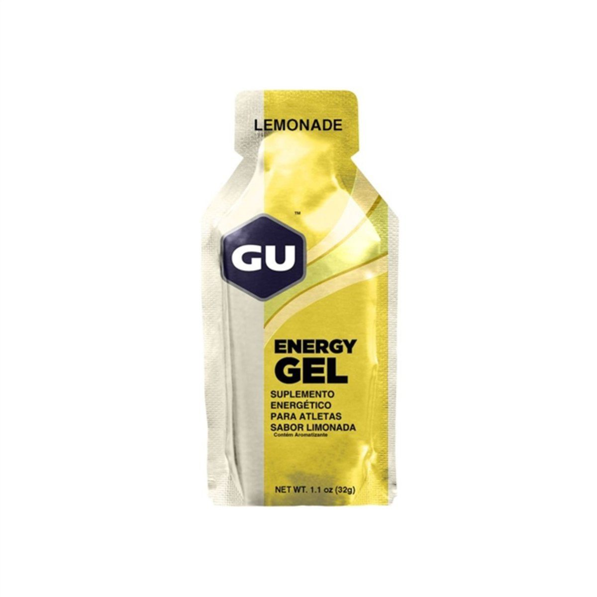 GEL GU ENERGY LIMONADA 1 UNIDADE