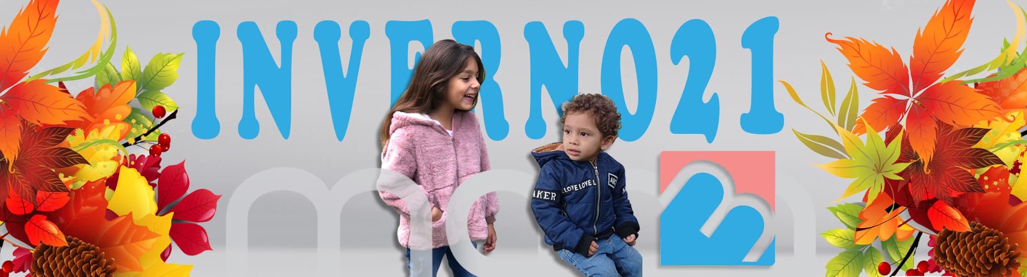 Jaqueta Infantil Grossa de frio manabana