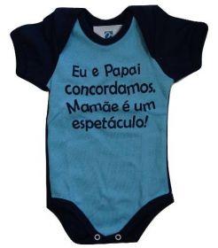 Body Frases Papai Roupa Bebe Banho De Sol Menino Menina