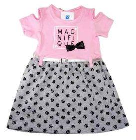 Vestido Bebe Infantil Roupa Verão Menina 1 A 3 Anos