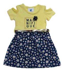 Vestido Manabana Infantil Menina Curto Verão