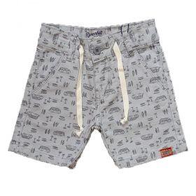 Bermuda Sarja Shorts Manabana verão menino 1 ao 8 Anos