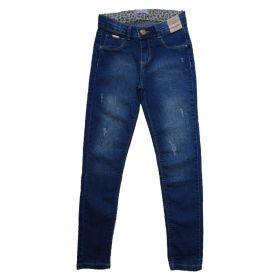 Calça Jeans Infantil Juvenil manabana Menina Black Friday