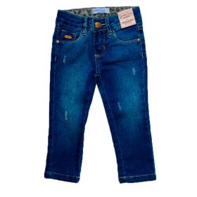 Calça Jeans Infantil Manabana Menina Oferta