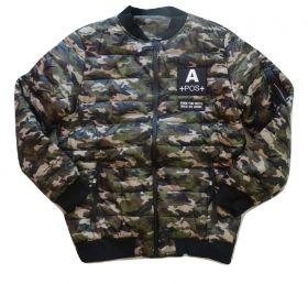 Jaqueta Bomber Forrada Camuflado Camuflagem Militar
