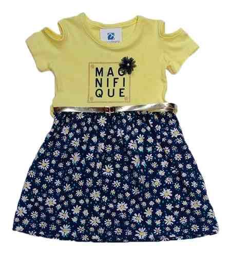 Vestido Manabana Infantil Menina Curto Verão  - Manabana