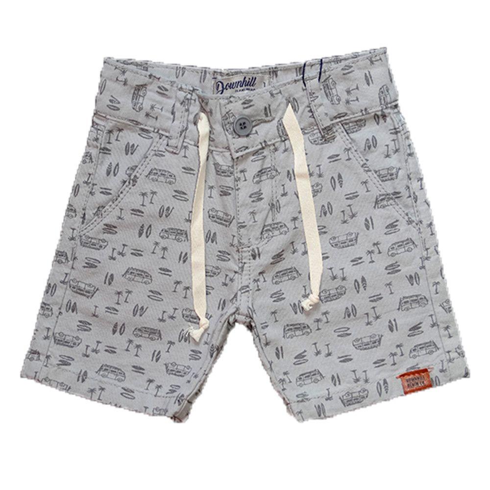 Bermuda Sarja Shorts Manabana verão menino 1 ao 8 Anos  - Manabana