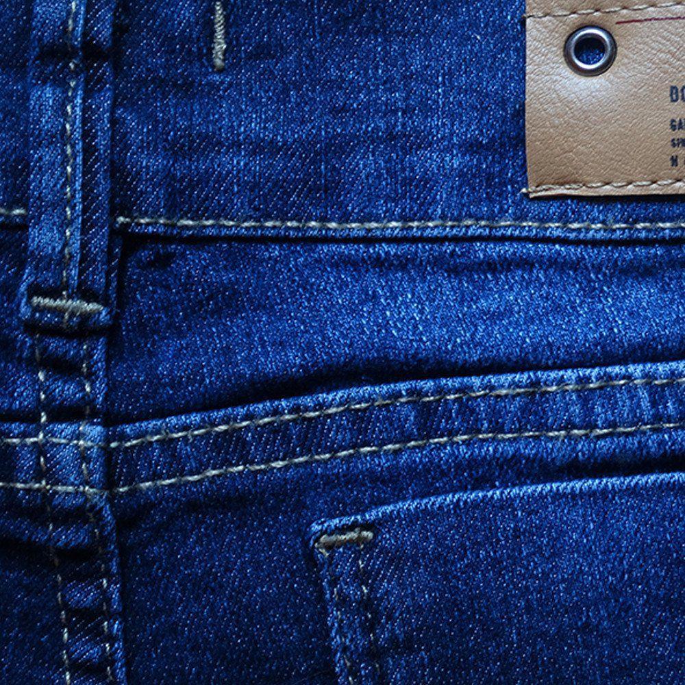 Bermuda Jeans Shorts Manabana Menino Azul Verão  - Manabana