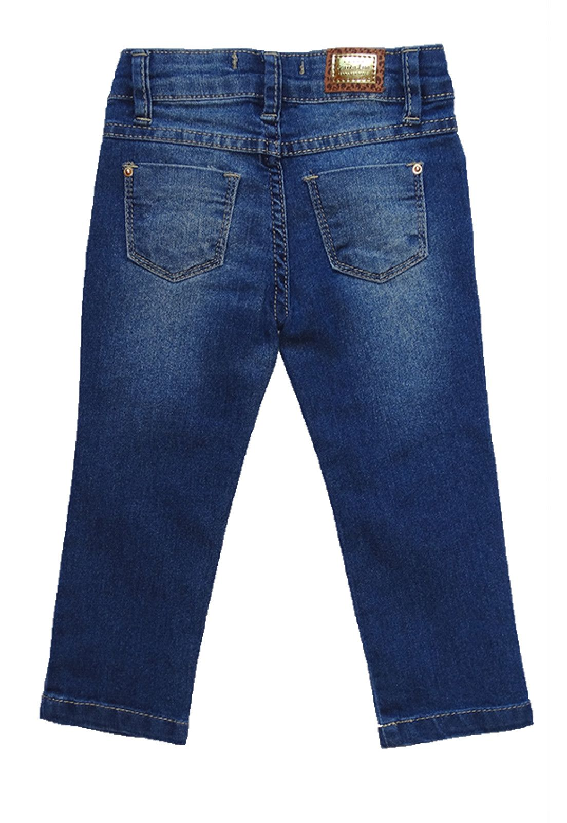 Calça Jeans Infantil Manabana Menina Oferta  - Manabana