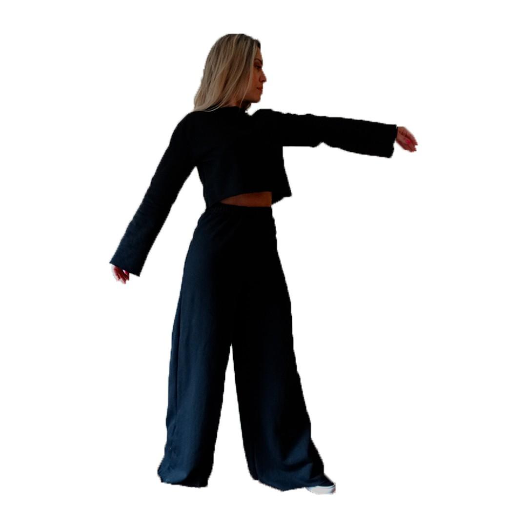 Calça Pantalona de Moletom Flanelado Manabana  - Manabana