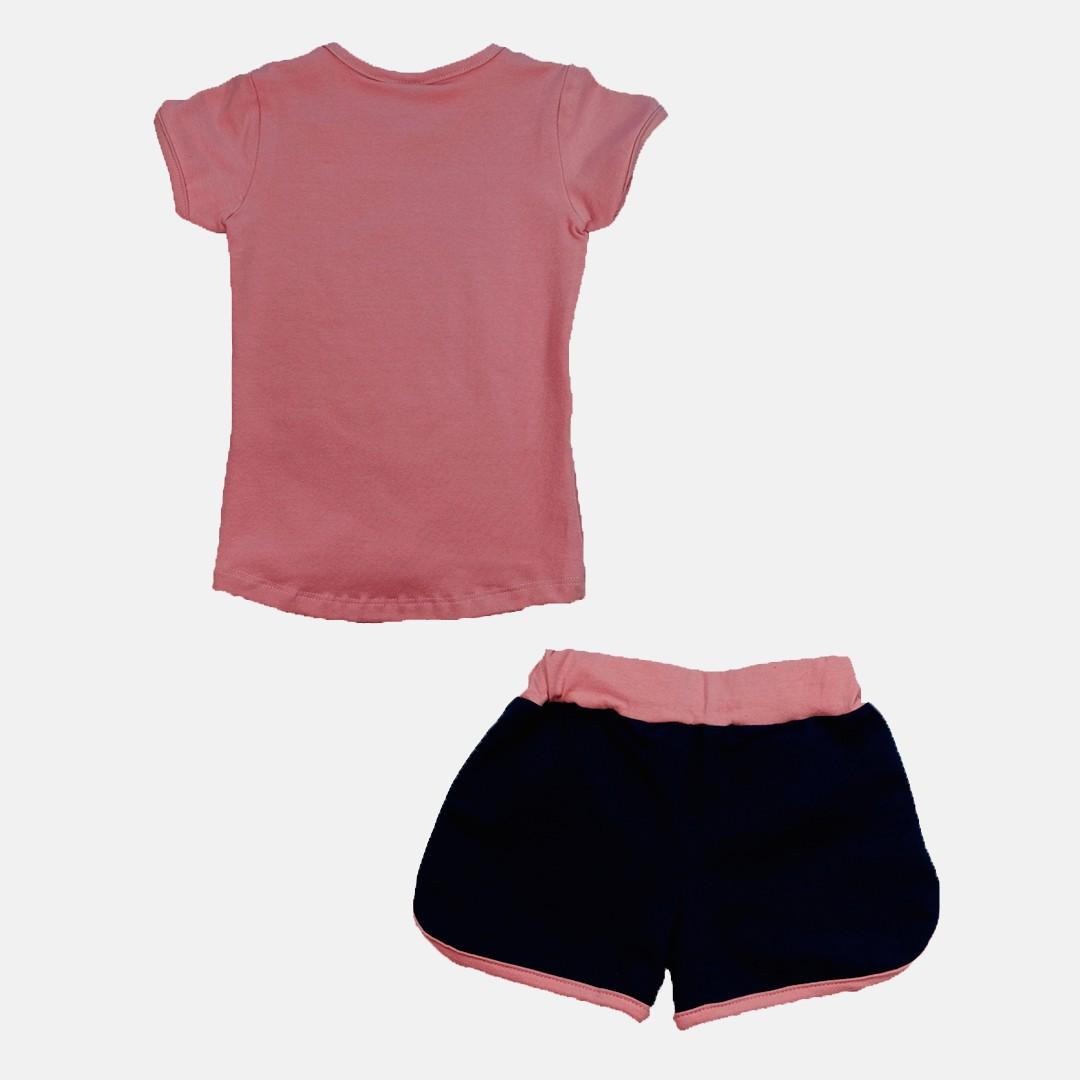 Conjunto Manabana Shrots e Blusinha Curto Infantil Menina   - Manabana