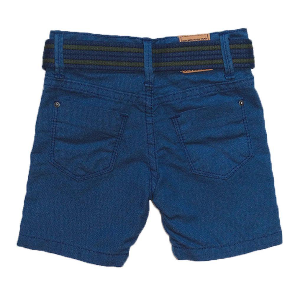 Bermuda Sarja Shorts Manabana Menino 10 ao 16 anos  - Manabana