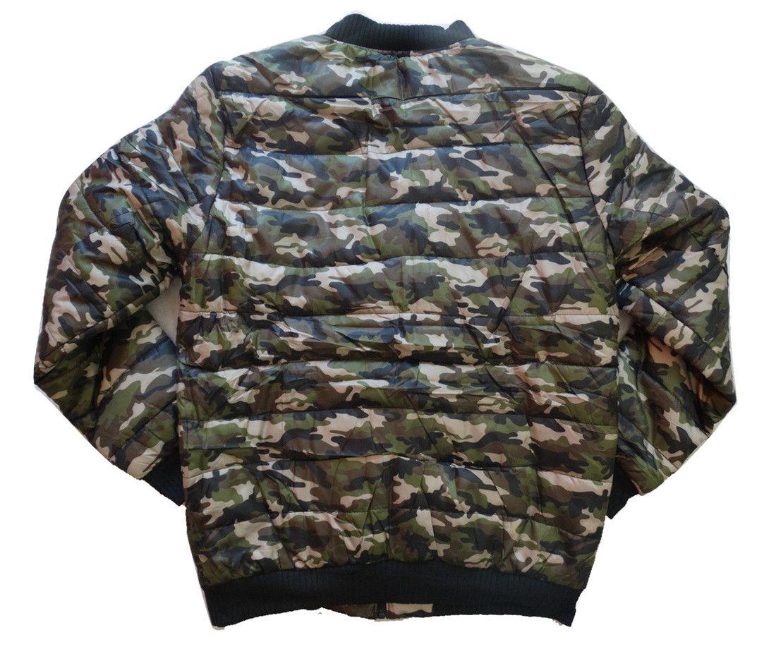 Jaqueta Bomber Forrada Camuflado Camuflagem Militar  - Manabana